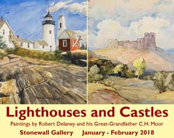 Lighthouses and Castles exhibit - click for more information...